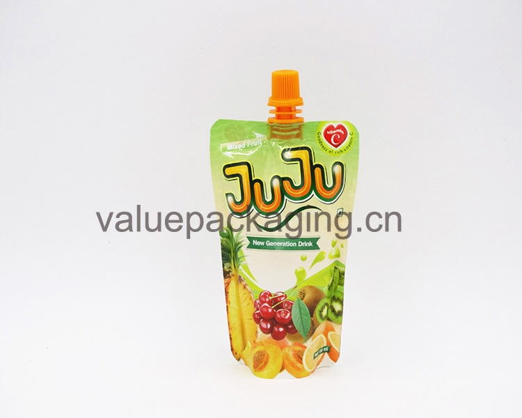150ml-plastic-juice-spout-bag-with-good-price