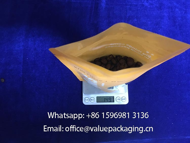 150grams-coffee-beans-filled-into-plastic-bag