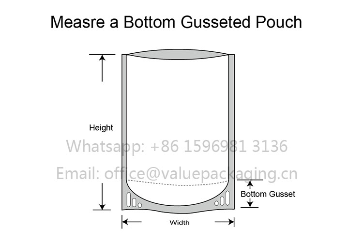 How-to-measure-a-bottom-gusseted-pouch