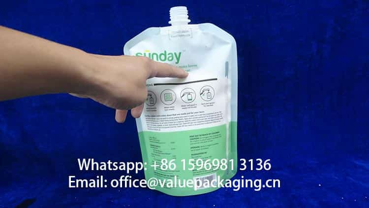 1000g-Sugar-granules-Filled-Level-into-standing-spout-pouch