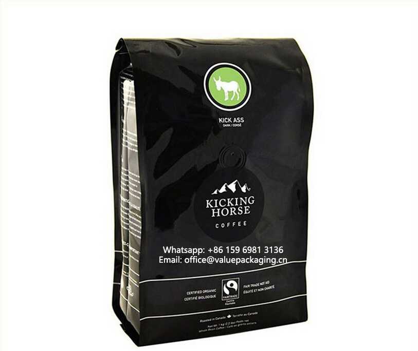 Quad-seal-side-gusseted-coffee-bag